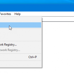 How to backup Windows registry