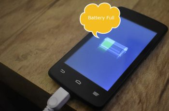 Get battery full notification on Android