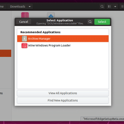 Install and run Windows software on Linux Ubuntu