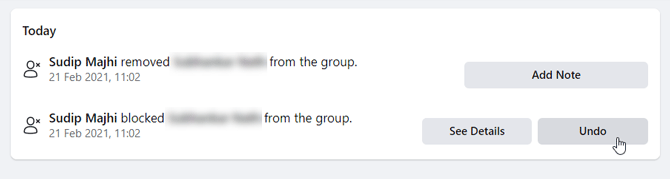 how to unblock someone from facebook group