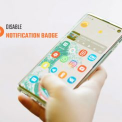 disable samsung badgeprovider notification badge