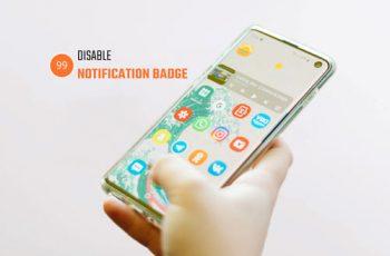 disable samsung badgeprovider notification badge